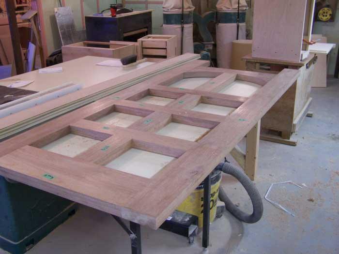 diy exterior door construction 2