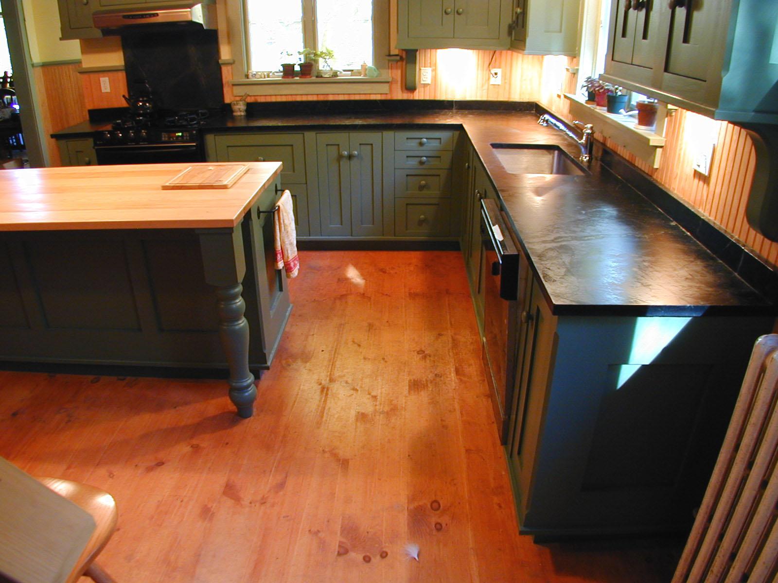Farm Kitchen Island Pshop 1024x768 Historic Kitchen Farm Kitchen Cabinets  Pshp 1024x768 Historic Kitchen