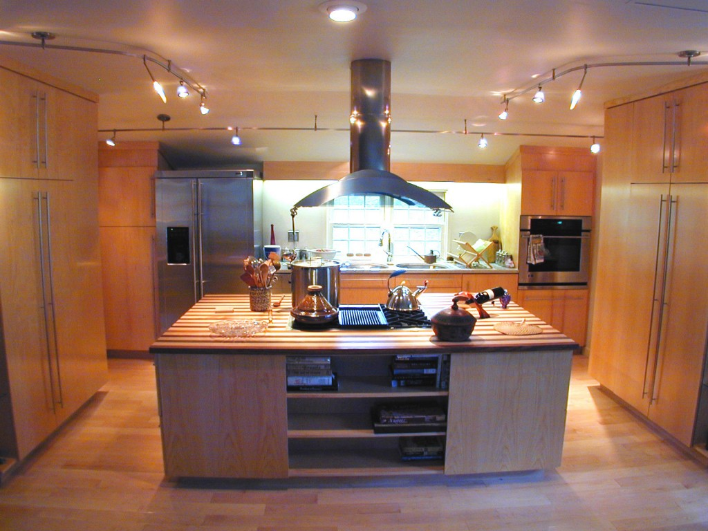 Modern stylish kitchen 1024x768 A Thoroughly Modern Kitchen