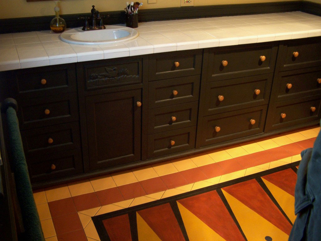 master 1024x768 A Cabinetmaker's Bathroom