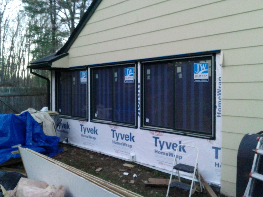 exterior eindows 1024x768 Making a Sunroom (From a Screened in Porch)