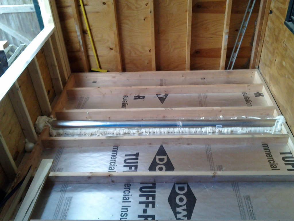 vent pipes 1024x768 Making a Sunroom (From a Screened in Porch)