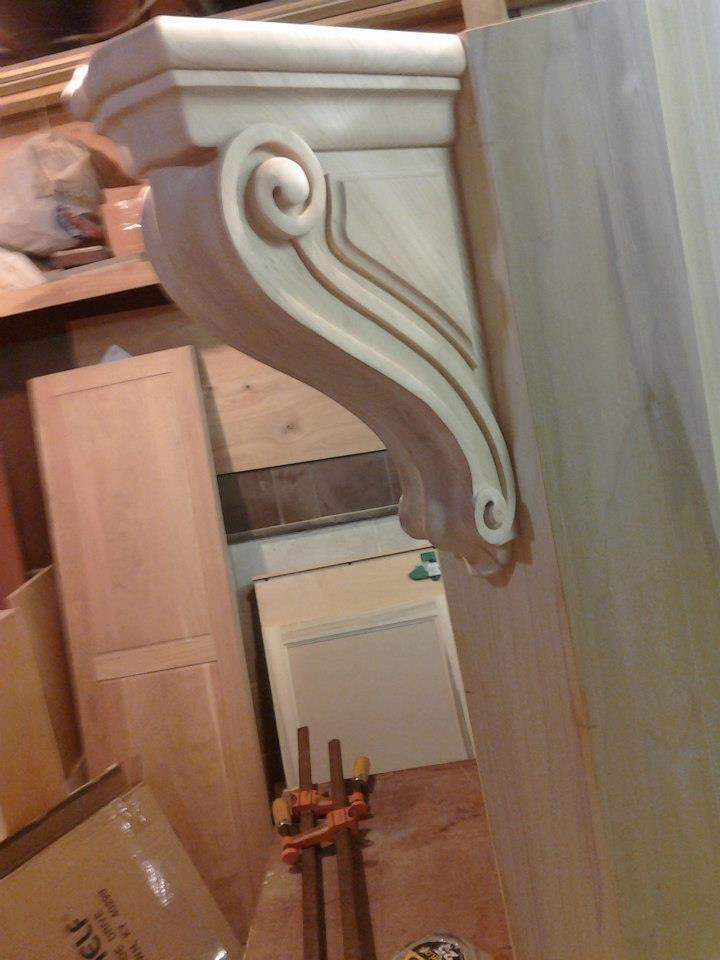 corbels A Hand Made Kitchen