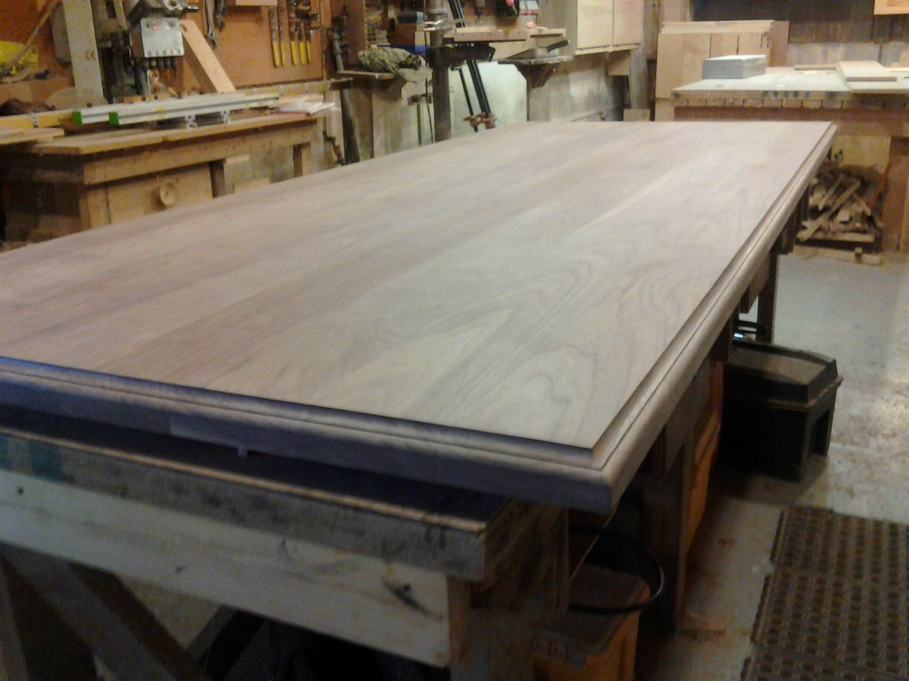 counter top assembled